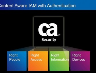 Content-Aware: The Next Stage of CA's Identity Access Management