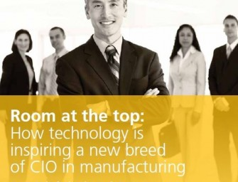 Room at the top: How technology is inspiring a new breed of CIO in manufacturing
