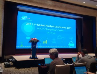 ZTE 11th Global Analyst Conference 2015