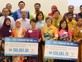 Intel Malaysia Gives Back to the Community