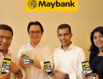 Maybank pioneers biometric authentication for mobile banking