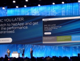 NetApp Insight 2015: EMC YOU LATER