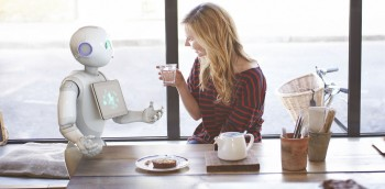 Pepper the robot, as a social companion at home