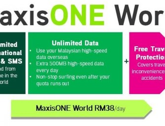 Travelling overseas? Wherever you go, MaxisONE plan now goes too