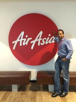 Air Asia's Naresh Alagan