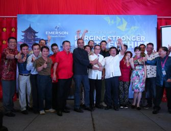 Emerson Network Power Honors Malaysian Distributors in 2016 Asia Channel Summit