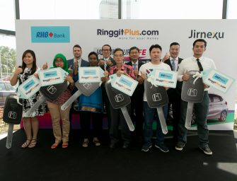 Easy by RHB and RinggitPlus.com customers take home RM600,000 in prizes from Drive Easy Sweepstakes Contest