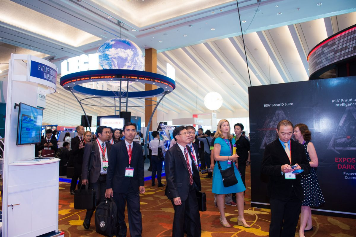 RSA Conference 2016 in Singapore is expected to draw a total of 5,000 attendees over 3 days.