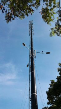 Carbon fibre tower in Puchong