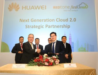REDtone and Huawei Develops Joint Business Innovation and Cooperation to Build a Better Connected Cloud Service