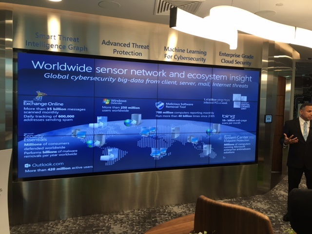 Microsoft's network of sensors that collect threat intelligence