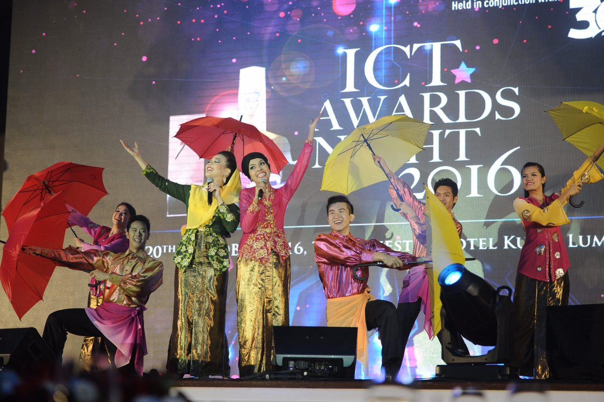 Performances at the ICT Awards Night 2016