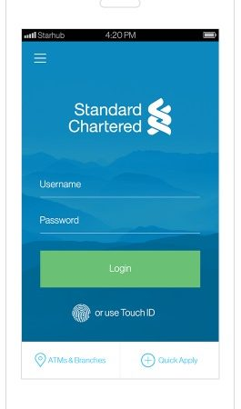 Standard Chartered Bank Launches In Malaysia First Complete Banking Services Through Touch Login Enterprise It News