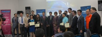 Group photo of ASOCIO E-Commerce Alliance Members at the E-Commerce Chapter Malaysia Launching Ceremony