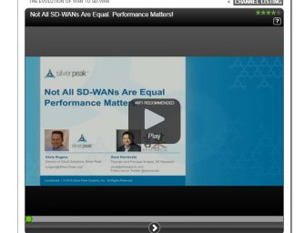Webinar: Not all SD-WANs are equal: Performance matters