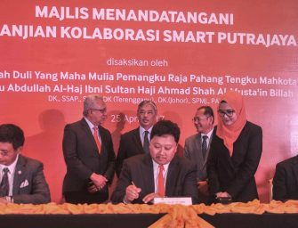 TM INKS SMART C-RAN COLLABORATION AND SERVICE AGREEMENTS FOR SMART PUTRAJAYA PROJECT WITH TOUCH MINDSCAPE SDN BHD