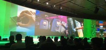 Veeam's co-CEO Peter Mackay selling the digital life to over 3000 attendees at VeeamON 2017 in New Orleans