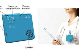 Fujitsu Develops World's First Wearable, Hands-Free Speech Translation Device