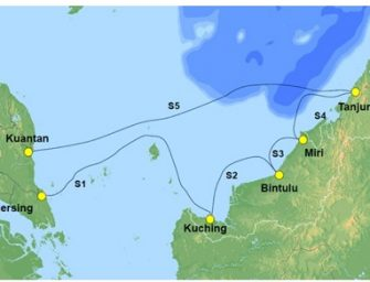 "NEC Completes Construction of ""SKR1M,"" a 100Gbps Submarine Cable in Malaysia"