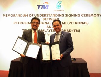 Petronas and TM embark upon cross-industry digital collaboration