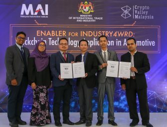 Blockchain to be applied to Malaysia's automotive sector by 2019