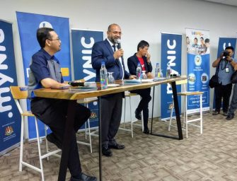 Coffee session with Mr. Gobind Singh, courtesy of Lelong.my and MYNIC