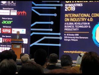 MYINDUSTRIES 2019, a Solutions-Providing Platform for IR 4.0 ecosystem