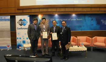 (L-R): Paul Preiss, Tan Chong's Kah Seng Ngai, Aaron Tan Dani, and Dr. Ariffin