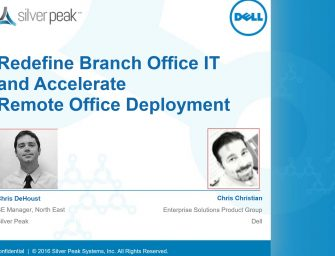 WEBINAR: Redefine Branch Office IT and Accelerate Remote Office Deployment
