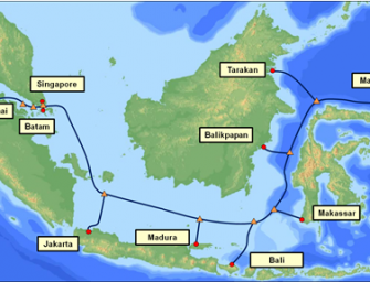 "PT.Telkom selects NEC to build the ""Indonesia Global Gateway (IGG)"" submarine cable"