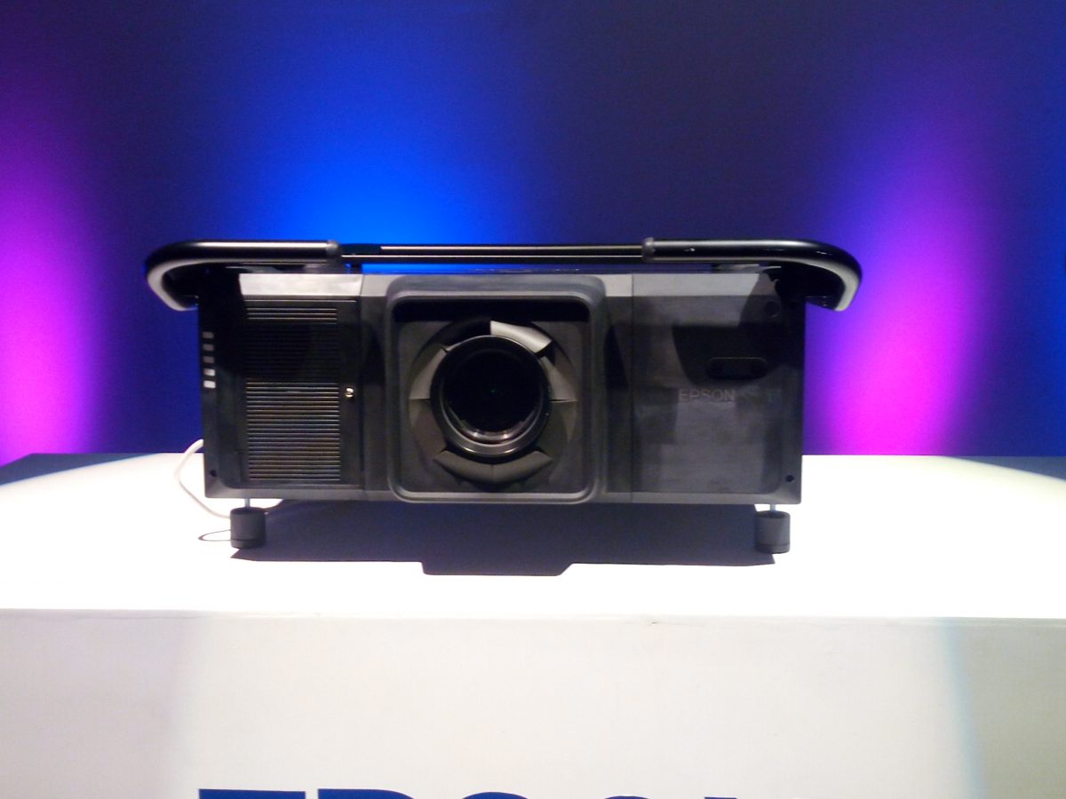 Epson's new projector features a full metal casing body, a fully sealed laser optical engine and inorganic components.