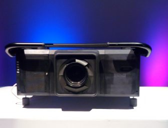 New heavyweight enters the laser projector market