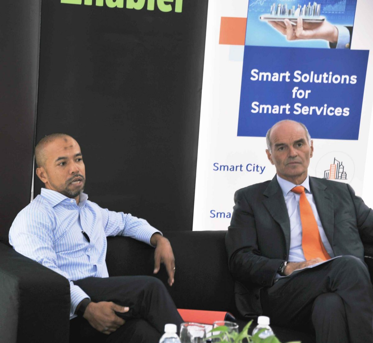 Dato Faris Yahaya, Managing Director of Cyberview Sdn Bhd and Mr Massimo Migliulo, Chief Executive Officer of VADS Lyfe Sdn Bhd