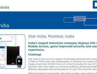 Case study: Star India enables secure access with HID Global
