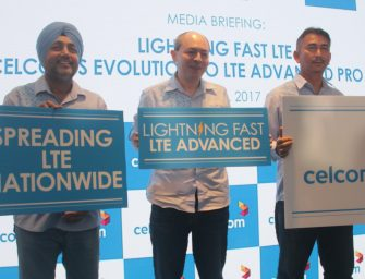 CELCOM PIONEERS TO BRING LIGHTNING FAST LTE TO MALAYSIA