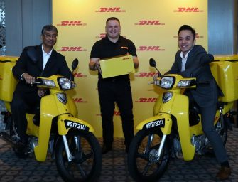 DHL putting the Smile in the Mile