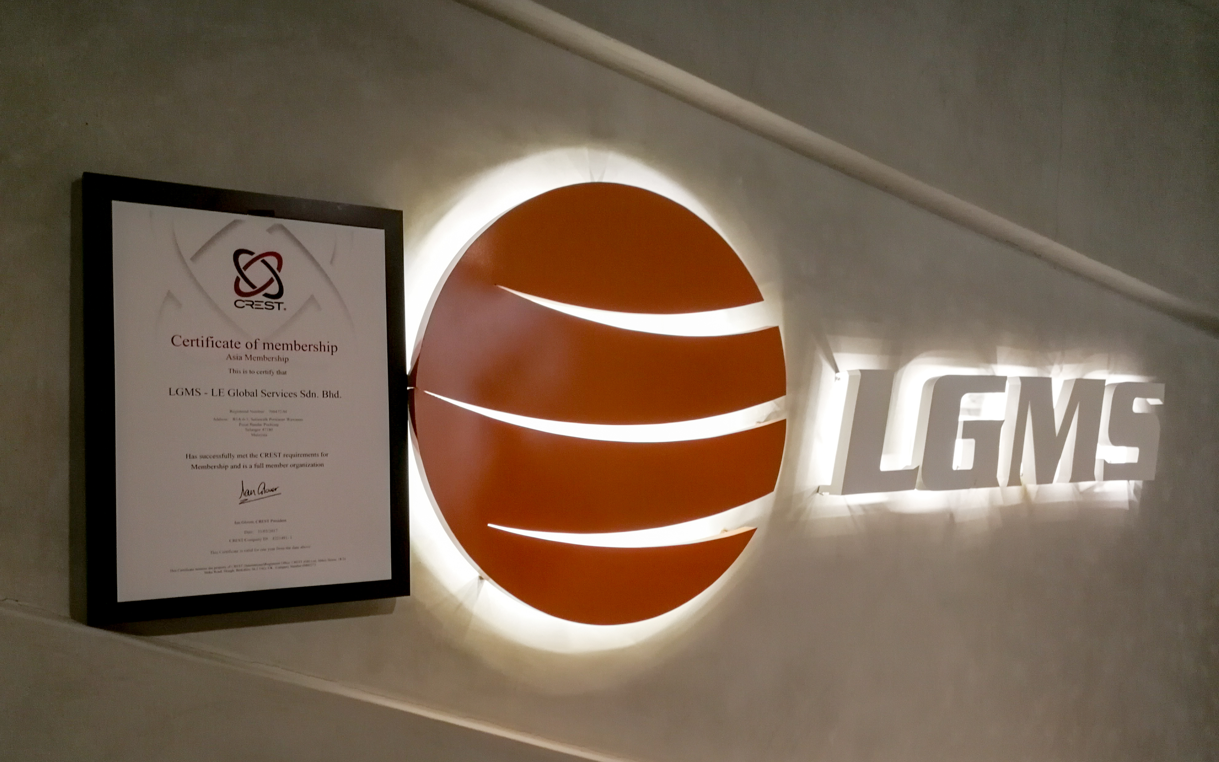 Lgms first in malaysia to gain crest uk accreditation enterprise lgms first in malaysia to gain crest uk accreditation enterprise it news xflitez Gallery