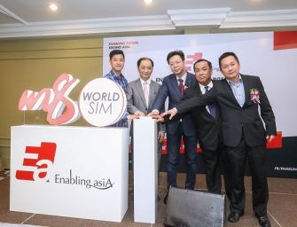 ENABLING ASIA CHARGES FORWARD WITH M8 WOLRD SIM