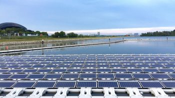 The floating solar platform by ABB