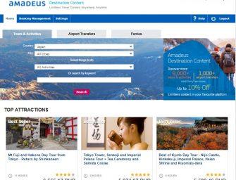 Amadeus launches new marketplace for Destination Content