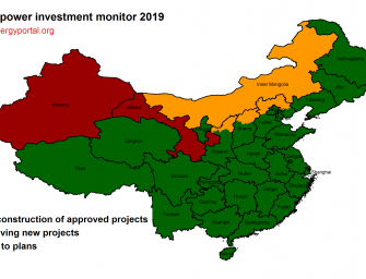 China produces more wind-generated electricity than solar